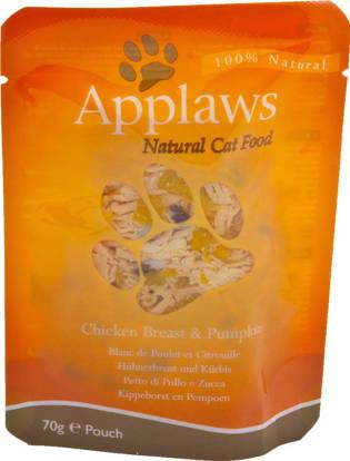 Picture of Applaws Cat ~Pouch Chicken /  Pumpkin 12 x 70g