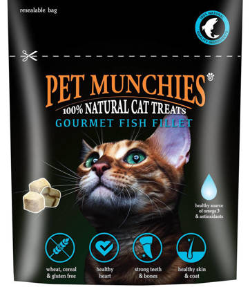 Picture of PET MUNCHIES CAT TREATS FISH